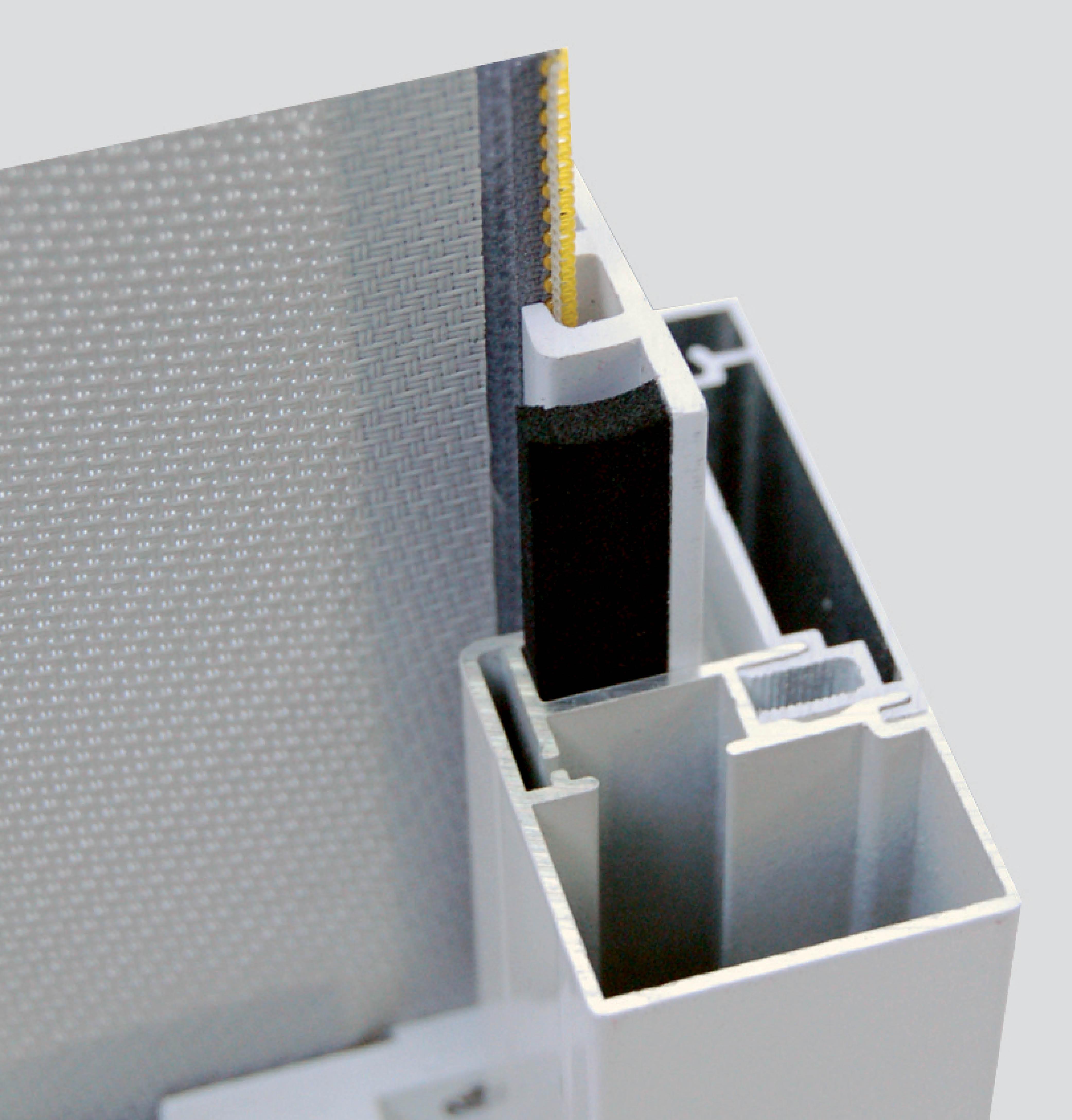 De DucoScreen Front 150 is ook beschikbaar in een stormvaste (FIX) uitvoering