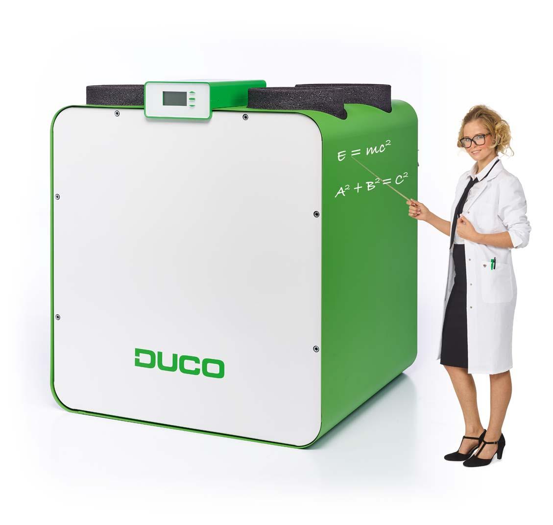 DucoBox Eco - De slimste ventilatiewarmtepomp van Europa