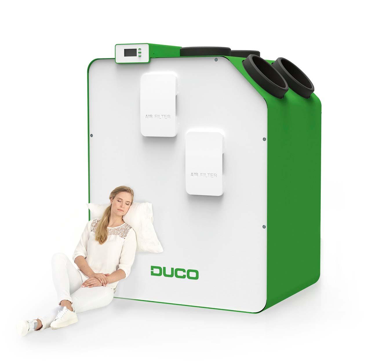 DucoBox Energy - De stilste WTW-unit van Europa