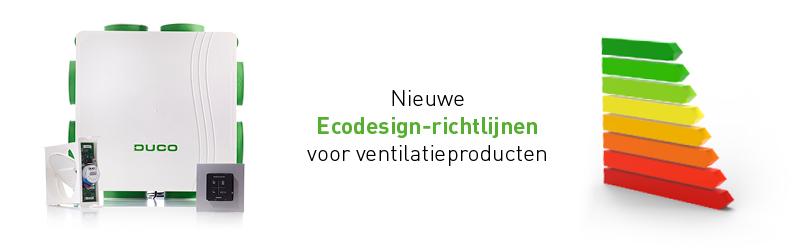 Nieuwe Ecodesign-richtlijnen - Duco