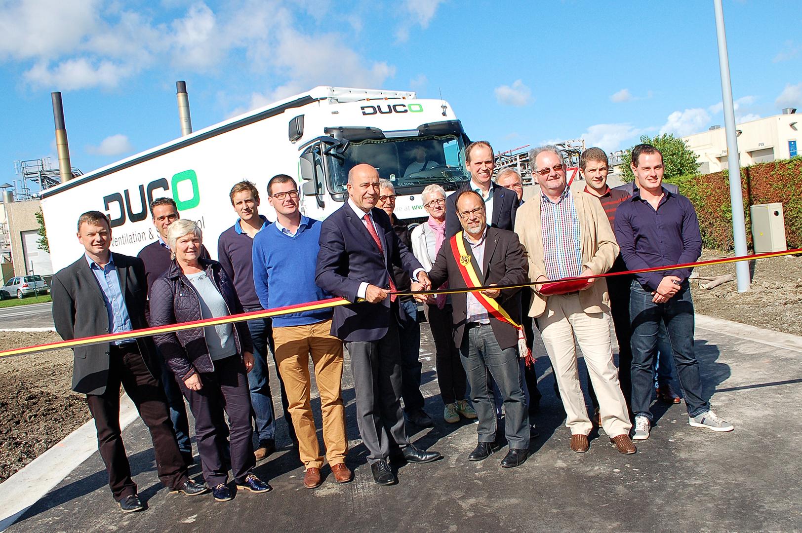 Opening nieuwe weg - Duco