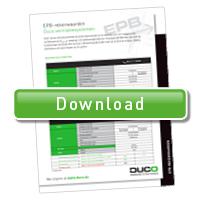 Download document EPB rekenwaarden