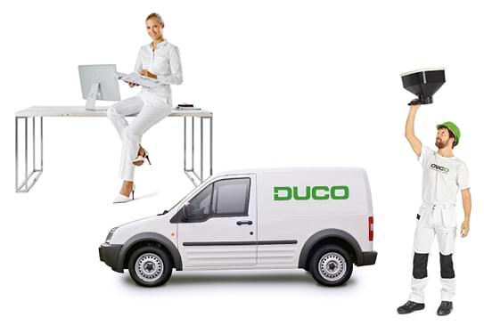 Mise en service Duco - Mise en service et calibrage+ Rapport