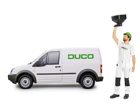 Mise en service DUCO - Mise en service et calibrage