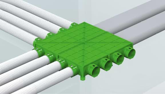 Plastic ducting
