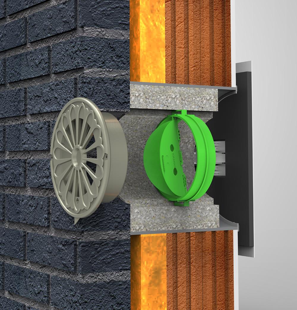 Zeer Duco - Specifieke ventilatie-oplossingen - Ventileren BK93