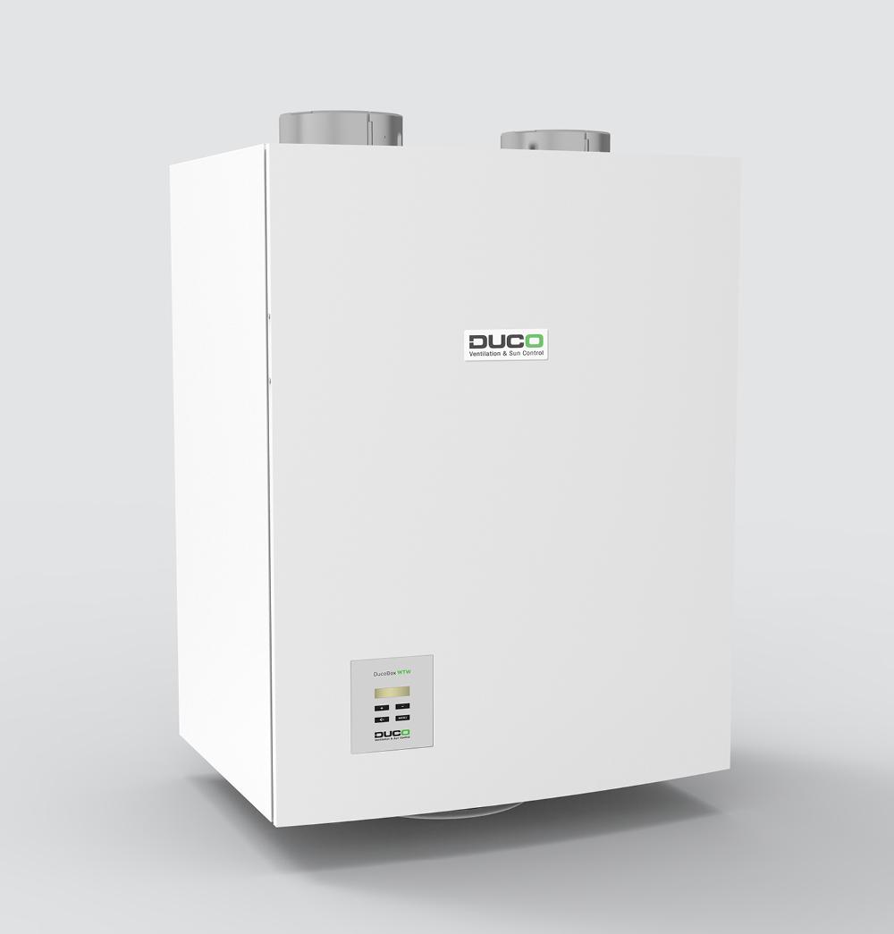 Duco WTW System - Ventilatiesysteem - Warmteterugwinning
