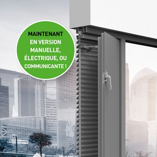 DucoGrille NightVent maintenant disponible en version manuelle